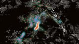Heatmap zur Visualisierung mobilitätsbedingter Emotionen.