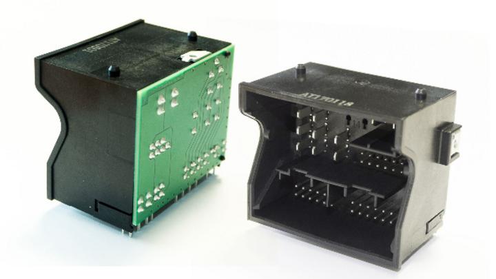 Mit der optional erhältlichen High-Power-Version lassen sich bis zu 20 A übertragen.