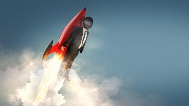 Business - Start up - Durchstarten (Symbolbild)