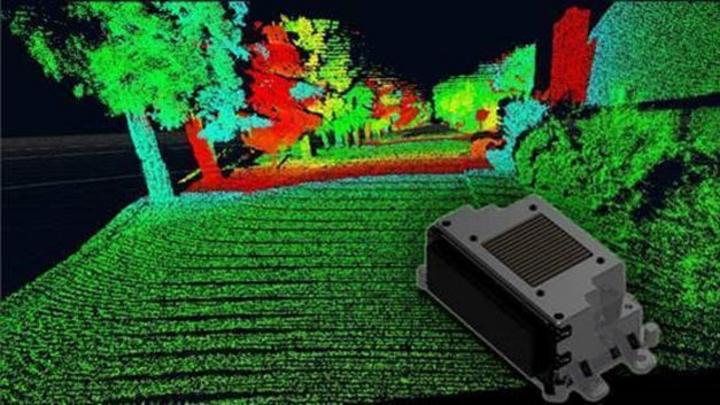 Die hohe Auflösung des Fernbereichs-LiDAR verbessert die Klassifizierung von Objekten.
