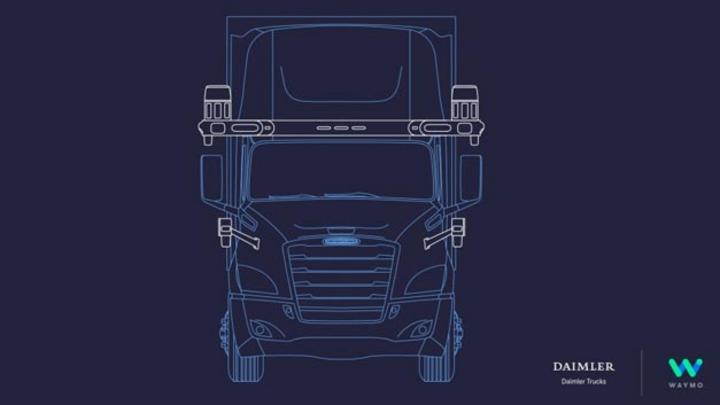 Daimler Trucks und Waymo kooperieren zukünftig beim automatisierten Fahren nach SAE Level 4 geschlossen.