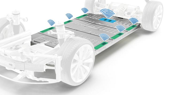 BMS wireless elektromobilität