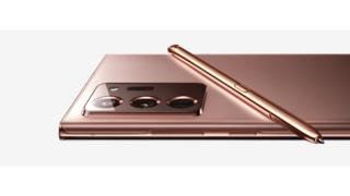 Im Kameramodul und S Pen des Galaxy Note20 arbeiten Sensorbausteine von STMicroelectronics.