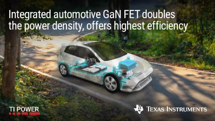 Texas Instruments, Gallium Nitride, GaN, Automotive