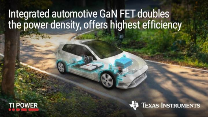 Erste Automotive-GaN-FETs Texas Instruments