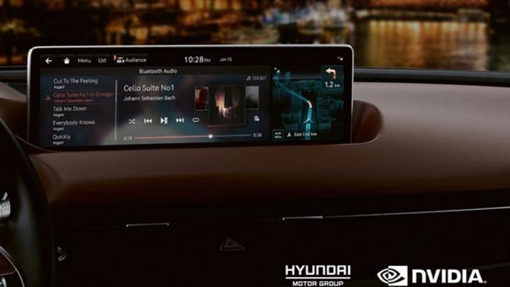 Die Hyundai Motor Group führt Nvidia-Drive- Plattform ab 2022 in sämtliche Fahrzeugmodelle ein.