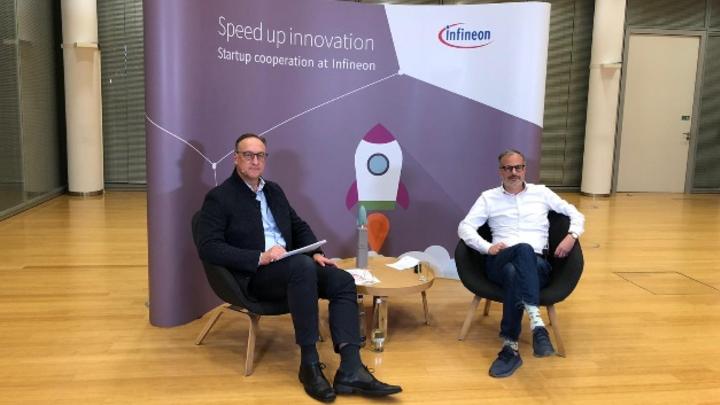 Helmut Gassel, Chief Marketing Officer und Lamin Ben-Hamdane, Head of Startup Cooperation