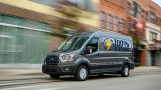 Beim neuen Ford E-Transit handelt es sich um ein Null-Emissionsfahrzeug,