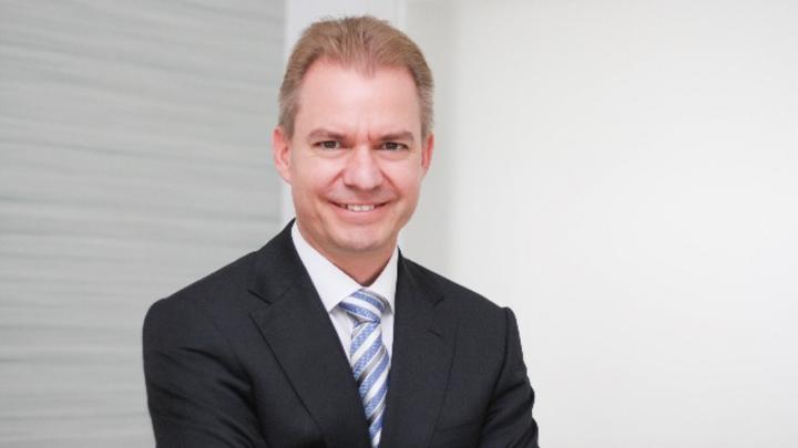 Dr. Christian Strahberger, Mitglied des Vorstands/Chief Operating Officer bei Singulus Technologies.