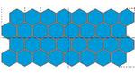 Gegeneinander versetzte, hexagonale Pixel erhöhen die Packungsdichte im Vergleich zu rein quadratischen Pixeln.