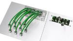 Teilbare EMV-Kabeleinführung