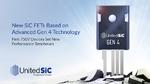 Vierte Generation an SiC-Transistoren