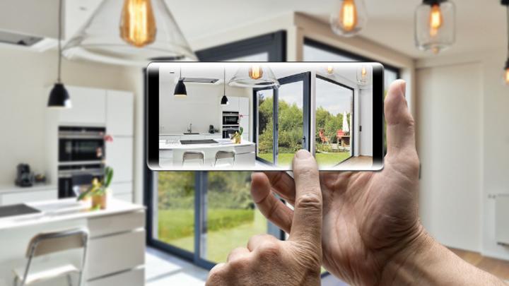 Der Fensterspezialist Schüco nutzt ZF-Funkschalter, um den Schließzustand von Fenstern und Türen an das Smart-Home-Steuersystem zu übertragen.