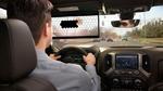 Transparente digitale  Sonnenblende von Bosch macht  Autofahren sicherer: