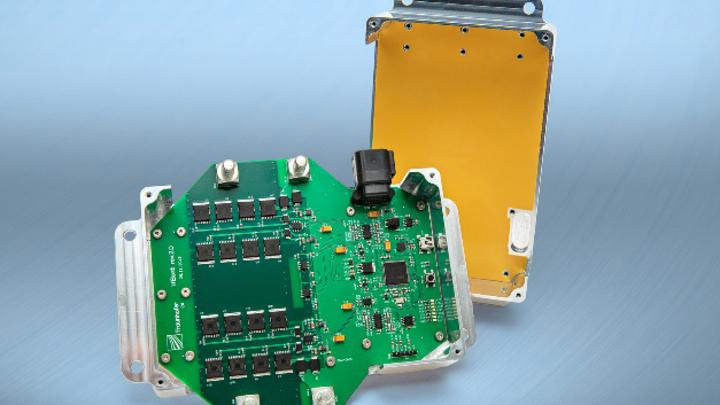 Das Elektronikmodul wurde von Forschern des Fraunhofer IZM und Partnern entwickelt.