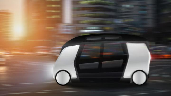 Autonome Kleinbusse könnten sich schon mit wenigen Fahrgästen rentabel betreiben lassen.