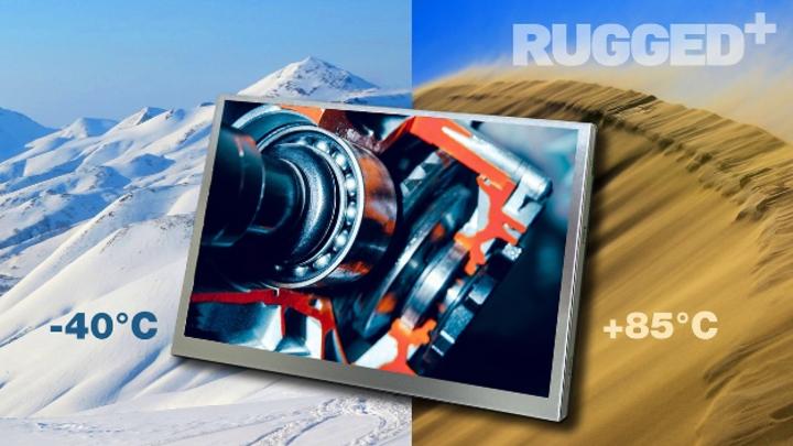 Distec bietet robuste TFT-Displays von Kaohsiung Opto-Electronics (KOE) für rauen Industrieeinsatz.
