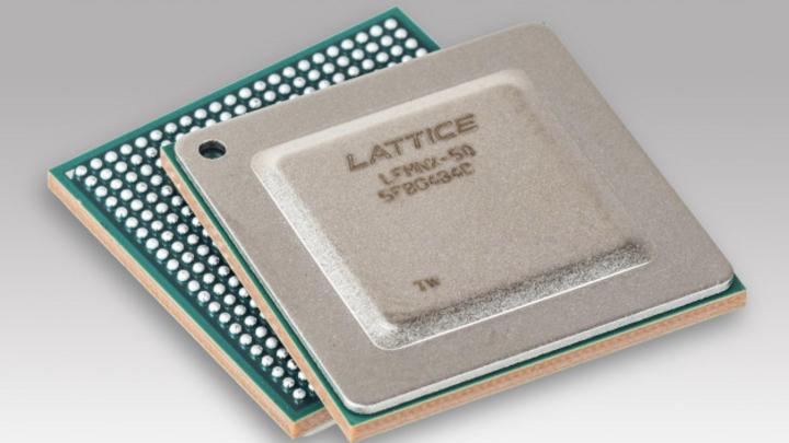 Foto Mach-NX-FPGA im BGA-Gehäuse