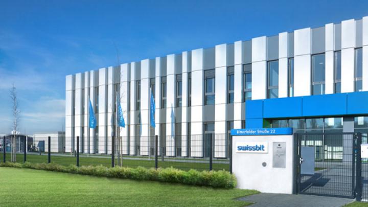 Die neue Fabrik von Swissbit in Berlin.