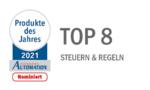 Unsere 8 nominierten Produkte in der Kategorie »Steuern & Regeln«: Jetzt sind Sie an der Reihe!
