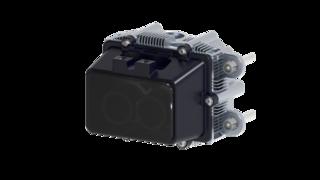 Der ibeoNext-Sensor basiert auf einer komplett neuartigen Photonen-Lasermesstechnik und kommt vollkommen ohne bewegliche Teile aus (Real-Solid-State).