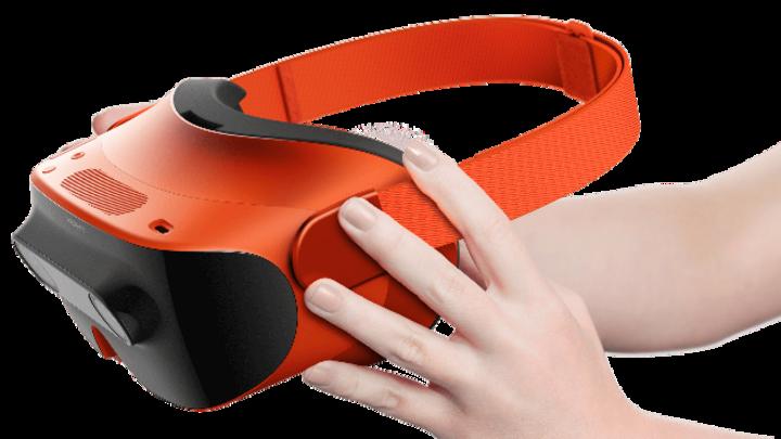 VR-Brille Manova vom taiwanesischen Hersteller XRSpace.