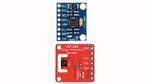 Die eingesetzten Breakout Boards mit dem MPU6050 (oben) und dem HDC1080 lassen sich einfach adaptieren