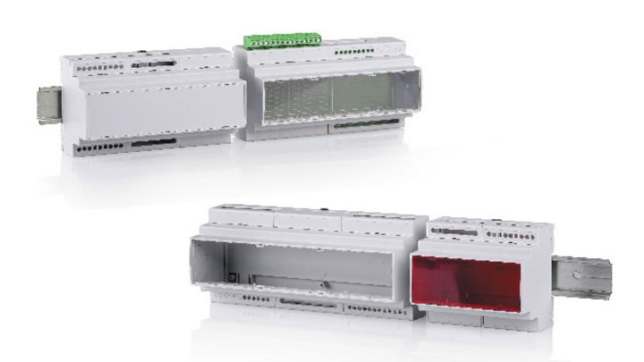 Mit dem neuen Produkt CombiNorm-Control bietet BOPLA seinen Kunden ein Tragschienengehäuse an, dessen Formfaktor der Norm DIN 43880 für Installationseinbaugeräte entspricht.