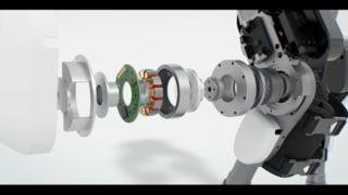 Antriebstechnik von Maxon im Exoskelett ExoMotus X2 von Fourier Intelligence