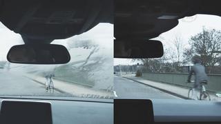 Das neue Sensorsystem von Ford soll das Beschlagen der Windschutzscheibe von innen verhindern.