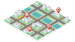 4.screen vernetzt Fahrzeuge mit Geschäften entlang der Route
