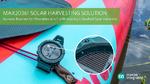 Industrieweit kleinster Solar-Harvester