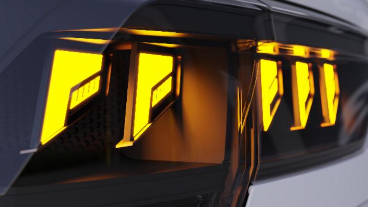 Der wenige Millimeter dünne Aufbau von Hella FlatLight bietet viel Gestaltungsfreiraum.