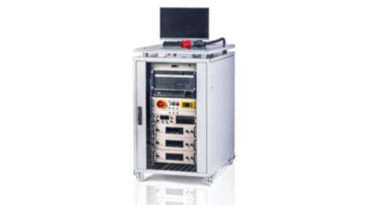 Mobiler Prüfstand für E-Antriebe von IAV