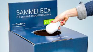LED- und alte Energiesparlampen zu recyclen ist vielerorts möglich