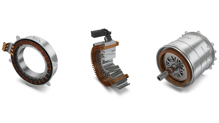 Das Anwendungsspektrum der E- Motoren reicht von 20 bis über 300 kW.