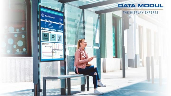 Data Modul reflective Display