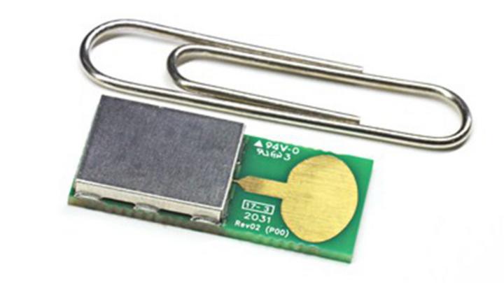 Das UWB-Modul integriert etwa 60 Komponenten.