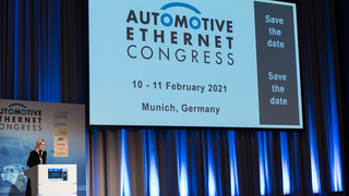 Aufgrund der Corona-Pandemie findet der siebte Automotive Ethernet Congress nicht wie angedacht als Präsenzveranstaltung in München statt, sondern in virtueller Form vom 09. bis 11. Februar 2021 – mit spannenden Themen im Gepäck.
