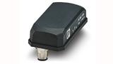 Das Funkmodul FL BLE 1300 leitet die per Bluetooth 5 empfangenen Sensordaten an die PLCnext-Steuerung weiter. Es wurde in einem industriellen Gehäuse mit Schutzart IP65 eingebaut, in dem auch die Antenne integriert wurde