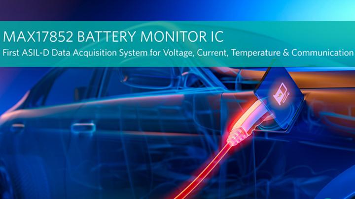 14-kanaliger Batterie-Überwachungs-IC für ASIL-D-konforme Systeme