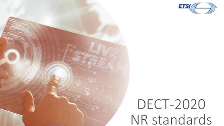Europas 5G-Beitrag: DECT-2020 New Radio