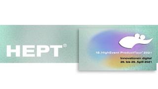 HEPT Logo, Roadshow 2021