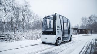 Autonom fahrende Kleinbusse von AuveTech.