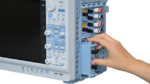 Bandbreite, maximale Abtastrate und die Anzahl an Messkanälen wird über modulare Einschübe festgelegt.