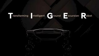 TIGER steht für Transforming Intelligent Ground Excursion Robot.