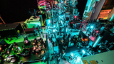 Die Wissenschaftler verfolgten die Orbital-Tomogramme mit ultrahoher Auflösung durch die Zeit. Die Elektronen in den Molekülen wurden dafür mit Femtosekunden-Laserpulsen in ein anderes Orbital angeregt.