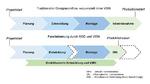 Schematische Darstellung der Parallelisierung der Entwicklung durch die virtuelle Inbetriebnahme