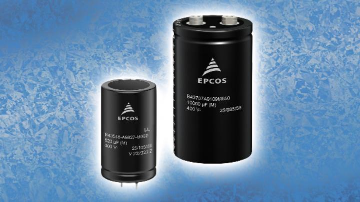 TDK Electronics, DC-Link Capacitor, Aluminum Electrolytic Capacitor