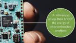 Neural Network Accelerator Chip MAX78000 von Maxim Integrated